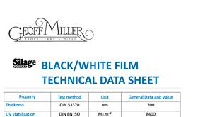 Geoff Miller Silage Formula Data Sheet 200UM